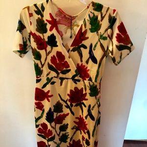 Zara Trafaluc Dress Floral Print